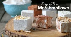 Homemade Marshmallows are super fun to make and have no artificial flavors or colors. Make them sugar free for a low carb treat.