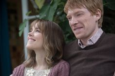 Still of Rachel McAdams and Domhnall Gleeson in About Time (2013)