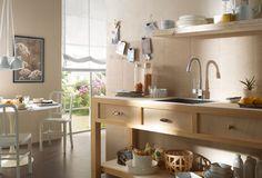 Piastrelle Cucina: idee e soluzioni in ceramica e gres  - Marazzi 3016