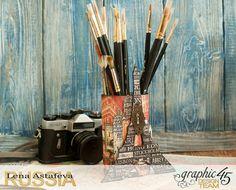 Organizer-City scrapes- by Lena Astafeva-Product by Graphic 45 (11 из 24)