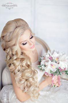 10 Preciosos Peinados de Novia que te encantarán ! - Bodas