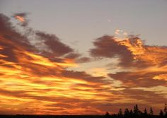Sunrise, South Pinette, PEI Sunrise, Scenery, Photographs, Clouds, Celestial, Awesome, Outdoor, Outdoors, Paisajes