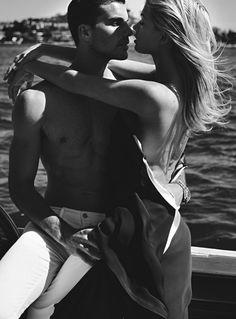 Megan Irwin, Douglas Joseph by Mario Testino for Vogue Australia April 2016