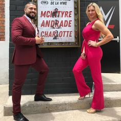 Ms Charlotte Flair with his husband! know more about in these couple -  & also watch online all wwe matches here - Best Instagram Photos, Cool Instagram, Watch Wrestling, Wrestling Wwe, Best Selfies, Charlotte Flair, Photos Of The Week, Superstar, Fox