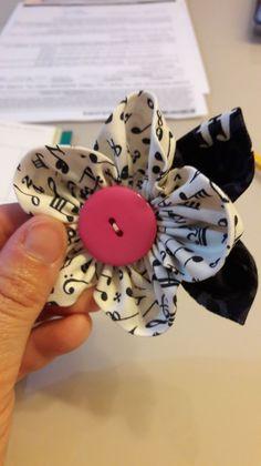 Flores de tela tutorial – MJBC bags and more