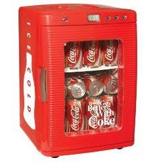 Koolatron KWC-25 Coca-Cola 28-Can-Capacity Portable Fridge with LED Display,Price: $129.99