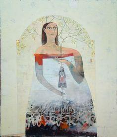 Francis Killian - Snow White - plus size women in art