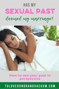 If you've been promiscuous in the past, is your future marriage doomed? The short answer: no. #newlyweds #intimacyinmarriage #biblicalmarriage #healthymarriage #sexquestionsyoucantaskyourpastor #tolovehonorandvacuum Intimacy In Marriage, Biblical Marriage, Marriage Vows, Before Marriage, New Relationships, Marriage Advice, Love And Marriage, Christian Couples, Christian Wife