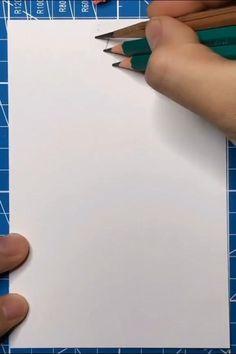 3d Art Drawing, Art Drawings For Kids, Art Drawings Sketches Simple, Pencil Art Drawings, Easy Drawings, Water Drawing, Oil Pastel Drawings, Art 3d, Drawing Ideas
