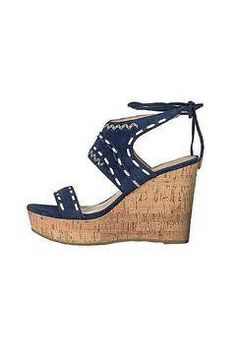 68314bb28e514d Shoptiques Product  Blue Wedge Blue Wedge Shoes