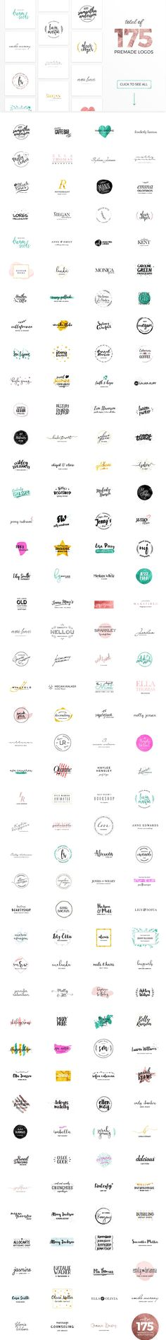 The Humongous Girlpreneurs Logo Pack by WornOutMedia Co. on @creativemarket