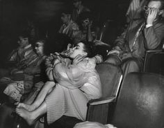 Lovers at the Palace Theater - ca.1945