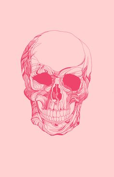 Mr. Skull Canvas Print by LOOSE GERMS
