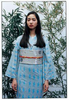 浴衣に新しさを。アンリアレイジ、ミントが「らしい」浴衣を新宿伊勢丹で披露 3枚目の写真・画像 | ファッショントレンドニュース|FASHION HEADLINE