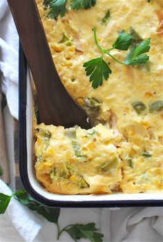 Cancan Chicken Casserole / Bev Cooks