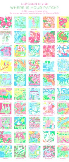 50 states of Lilly!