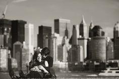Jersey City Engagement Session: Clarke + Kathryn - Emmaline Bride™