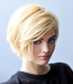 2014 visage rond. coiffure femme