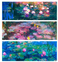 Claude Monet » Water Lilies