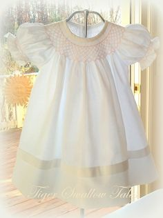 Tiger Swallow Tales Boutique: CELEBRATING NATIONAL SMOCKING MONTH IN FEBRUARY