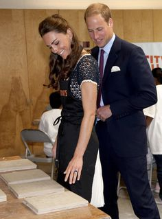 So darn cute together!  Prince William and Catherine Duchess of Cambridge, aka Kate Middleton