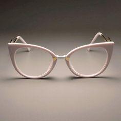 Ladies Sexy Cat Eye Glasses Frames For Women Designer Optical EyeGlasses Fashion Eyewear - Ladies Sexy Cat Eye Glasses Frames For Women GORGEOUS Brand Designer Optical EyeGlasses Fashion Eye - Red Cat Eye Glasses, Fashion Eye Glasses, Round Lens Sunglasses, Cat Eye Sunglasses, Lunette Style, Mens Glasses Frames, Cute Glasses, Designer Eyeglasses, Cat Eye Frames