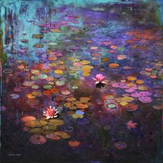 """itscolossal: """" Mixed Media Works Bring an Impressionist Hand to Rural Canadian Landscapes """""""