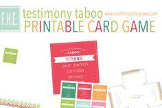 craftinge: Testimony Taboo (free printables!!)