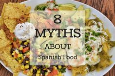 What do sangria, tortillas and hot sauce have in common? None of them are popular in Spain! Check out these and more myths about Spanish food here.