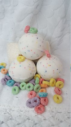 A personal favorite from my Etsy shop https://www.etsy.com/listing/496416324/fruit-loops-bath-bombs