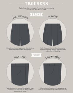 Understanding the role of your trousers and the options you have in choosing them are the keys to comfortable, sharp-looking clothes for your lower half #HowToWearIt #Trousers #TrouserSuit #MensTrousers #SuitStyle #SuitUp #WearItRight #WellDressed #Tailored #Professional #Dapper #Gentlemen #MensStyle #MensWear #MensFashion www.manavethnic.com