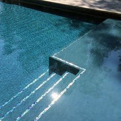 pool im garten ideen From Mediterranean mosaic patterns to iridescent glass and beyond, discover the top X best home swimming pool tile ideas. Swimming Pool Tiles, Swimming Pools Backyard, Swimming Pool Designs, Pool Landscaping, Lap Pools, Indoor Pools, Pool Steps Inground, Pool Decks, Gunite Swimming Pool