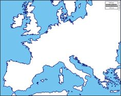 map of European Union countries  simplified by FreeWorldMaps