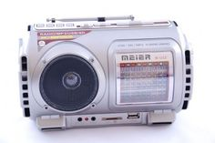 Radio M-U22 USB SD MP3 wbudowan akumulator latarka