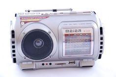 Radio M-U22 USB SD MP3 wbudowan akumulator latarka