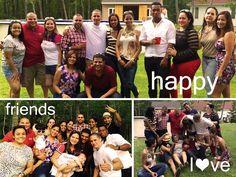 NY familia, amigos, vida