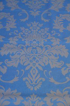 Damast-Druckgewebe - Stoff aus Baumwolle von Skandinavische Stoffe auf DaWanda.com