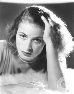 Ingrid Bergman, photographed by John Engstead (1939)