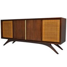 Vladimir Kagan, Grosfeld House Credenza or Sideboard | From a unique collection of antique and modern credenzas at https://www.1stdibs.com/furniture/storage-case-pieces/credenzas/