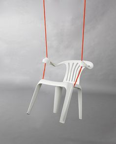 Rocking Chair by Bert Loeschner