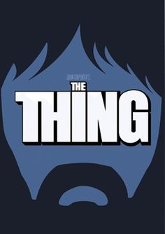 John Carpenter's The Thing Poster by Visual Etiquette, $20.00