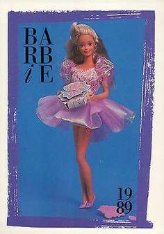 "Barbie Collectible Fashion Trading Card  /"" Fashion Editor /"" Pillbox Hat 1965"
