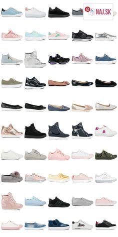 Dámske tenisky sú najčastejšie nosenou obuvou od jari do jesene. V súčasnosti je ponuka veľmi bohatá. Okrem tenisiek určených pre šport, poznáme aj nové druhy vychádzkovej (lifestylovej) obuvi. Tak napríklad platformové tenisky s pätou uloženou na kline, alebo tenisky creepers s výrazne hrubou podrážkou. Počas horúcich letných dní sa veľmi často nosia plátenky alebo tenisky slip on (nazuvacie). Tie sú často doplnené výšivkou, či vystrihnutými kvetmi. Obľúbené materiály sú eko koža, textil…
