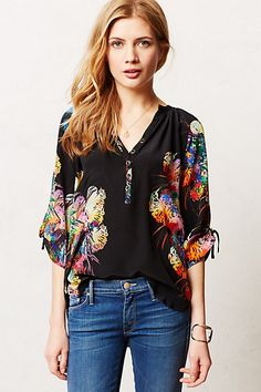 Talula Popover #anthropologie..I should have this top for the name alone! Pssst…it's almost my birthday! Hahaha ;)