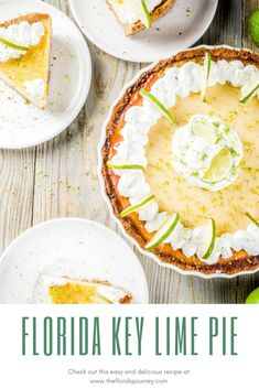 The Best (EVER!) Florida Key Lime Pie Recipe – The Florida Journey pies pies recipes dekorieren rezepte Cream Recipes, Pie Recipes, Dessert Recipes, Cooking Recipes, Pie Dessert, Recipies, Florida Key Lime Pie Recipe, Key West Key Lime Pie Recipe, Key Lime Pie Crust Recipe
