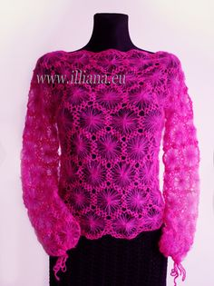 Blouse . Crochet Pattern No 228