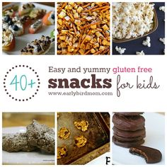 Need a gluten free Mothers Day dessert idea? We've got you covered with over 40 easy GF dessert recipes and snack ideas. Your mom will thank you!   MomsDay