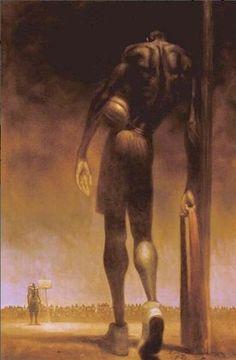 David and Goliathe - 22x25 limited edition print - Kadir Nelson – It's A Black Thang.com