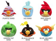 Angry Birds Space Plush w/ Sound