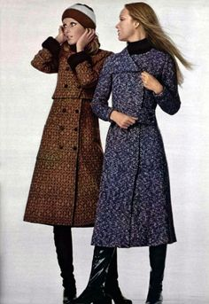 Women S Fashion Clearance Sale Vintage Winter Fashion, 60s And 70s Fashion, Seventies Fashion, Teen Fashion, Retro Fashion, Autumn Fashion, Fashion Women, Celine, 1970s Clothing